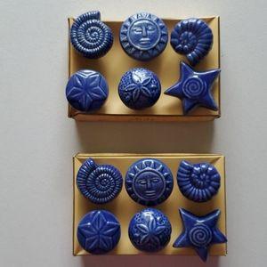 12 Ceramic Drawer Pull Knobs NMT